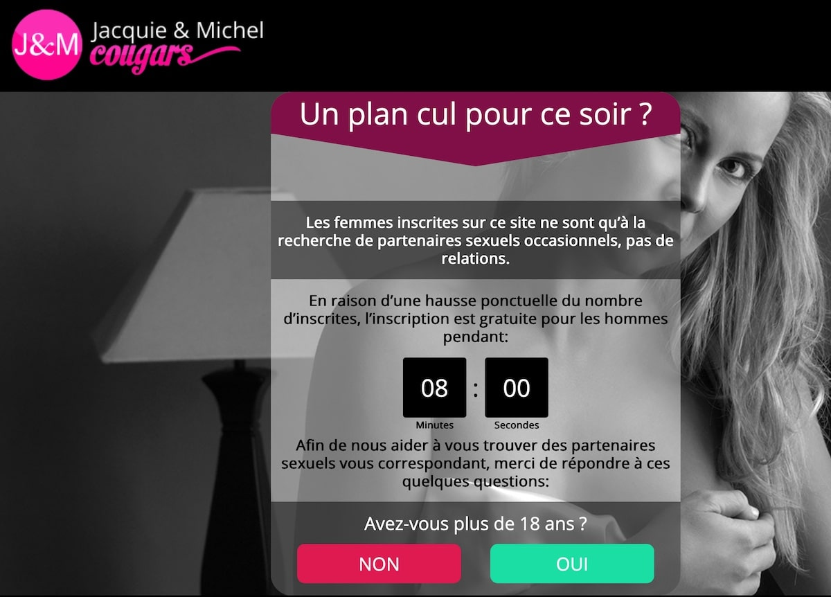 Avis Jacquie Michel Cougar : femme expérimentée pour JH